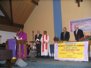 DEDICATION OF GUJARATI CHURCH OF CANADA (2)
